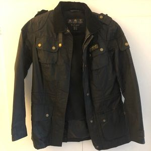 Barbour Classic Wax Jacket, Size 6